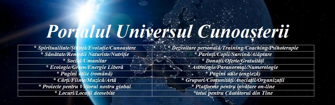 """Link util: """"Portalul Universul cunoasterii"""""""