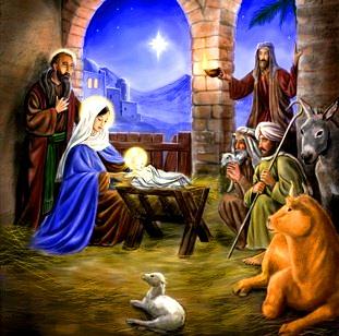 CRĂCIUNUL - Sărbătoarea Naşterii Domnului Iisus Christos !