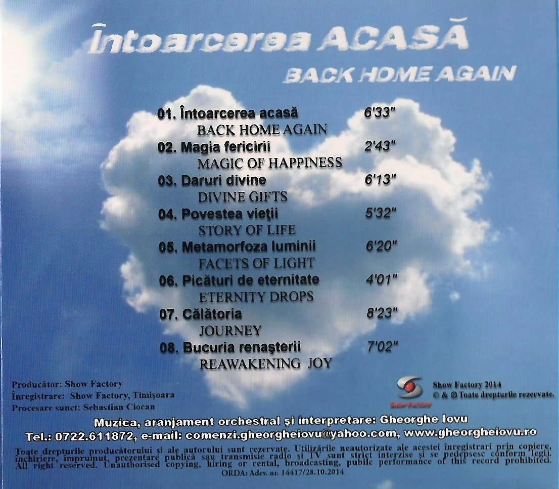 3 Gh. Iovu Continut CD