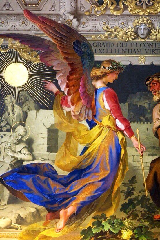 Înger in culorile stindardului naţional al României