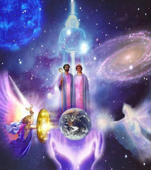 """« Sfânta Treime - Voinţa Divină! » (Abd-ru-schin - """"În Lumina Adevărului"""" - Mesajul Graalului)"""
