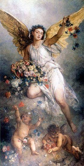 Flori pentru Mama Divină - Duhul Sfânt și Maria - Maica Domnului !
